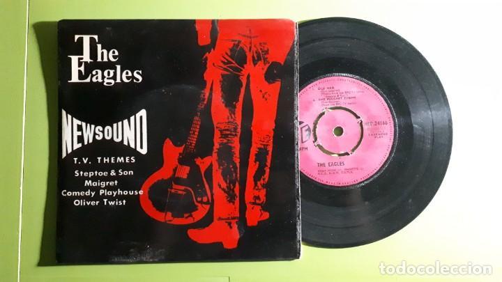 THE EAGLES - NEWSOUND TV THEMES - STEPTOE & SON +3 - 1962 - COMPRA MÍNIMA 3 EUROS (Música - Discos de Vinilo - EPs - Pop - Rock Internacional de los 50 y 60)