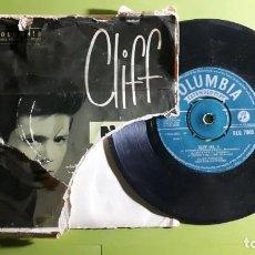Discos de vinilo: CLIFF RICHARD AND THE DRIFTERS - APRON STRINGS +5 - 1959 - COMPRA MÍNIMA 3 EUROS. Lote 288473108