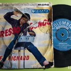 Discos de vinilo: CLIFF RICHARD AND THE SHADOWS - EXPRESSO BONGO - LOVE +3 - COMPRA MÍNIMA 3 EUROS. Lote 288473373