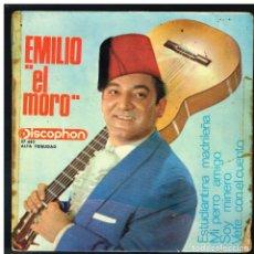 Discos de vinilo: EMILIO EL MORO - ESTUDIANTINA MADRILEÑA /MI PERRO AMIGO / SOY MINERO / VETE -' EP 1965. Lote 288473423
