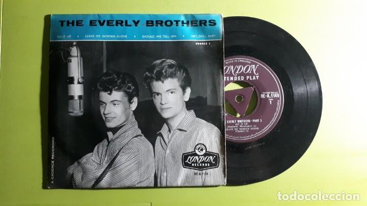 THE EVERLY BROTHERS - RIP IT UP +3 - 1958 - COMPRA MÍNIMA 3 EUROS (Música - Discos de Vinilo - EPs - Pop - Rock Internacional de los 50 y 60)