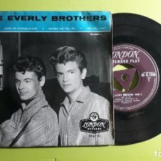 Discos de vinilo: THE EVERLY BROTHERS - RIP IT UP +3 - 1958 - COMPRA MÍNIMA 3 EUROS. Lote 288473768