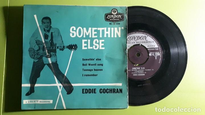 EDDIE COCHRAN - SOMETHIN ELSE +3 - 1959 - COMPRA MÍNIMA 3 EUROS (Música - Discos de Vinilo - EPs - Rock & Roll)
