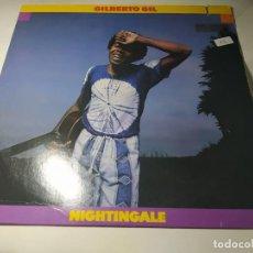 Discos de vinilo: LP - GILBERTO GIL – NIGHTINGALE - 6E-167 (VG+ / VG+) USA 1979. Lote 288474203