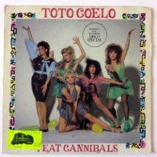 Discos de vinilo: TOTO COELO - I EAT CANNIBALS - VIRGIN 1982. Lote 288474313