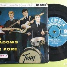 Discos de vinilo: THE SHADOWS - APACHE +3 - 1960-1961 - COMPRA MÍNIMA 3 EUROS. Lote 288474593