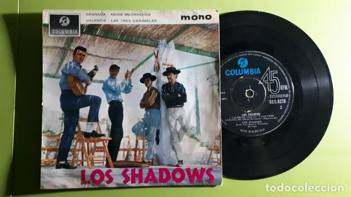 LOS SHADOWS - GRANADA +3 - 1963 - COMPRA MÍNIMA 3 EUROS (Música - Discos de Vinilo - EPs - Pop - Rock Internacional de los 50 y 60)