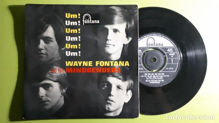 WAYNE FONTANA AND THE MINDBENDERS - UM UM UM UM UM UM +3 - 1964 - COMPRA MÍNIMA 3 EUROS (Música - Discos de Vinilo - EPs - Pop - Rock Internacional de los 50 y 60)