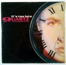 Discos de vinilo: QUARTZ INTRODUCING DINA CARROLL - IT'S TOO LATE - MERCURY, PHONOGRAM, LONDON 1991. Lote 288475468