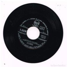Discos de vinilo: ELVIS PRESLEY - CUELGA MI ANILLO EN TU CUELLO / NO CREES QUE ES TIEMPO + 2 - EP 1959 - SOLO VINILO. Lote 288477748