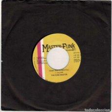 Discos de vinilo: THE FUNK MASTER - IT'S OVER. SINGLE (SÓLO VINILO). Lote 288477863