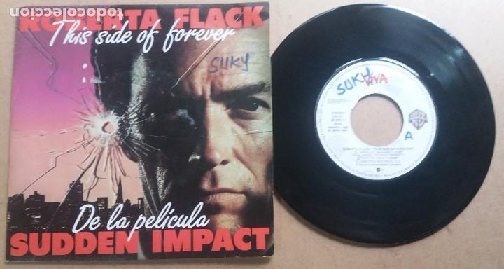 ROBERTA FLACK / THIS SIDE OF FOREVER / SINGLE 7 INCH (Música - Discos - Singles Vinilo - Funk, Soul y Black Music)