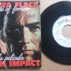 Discos de vinilo: ROBERTA FLACK / THIS SIDE OF FOREVER / SINGLE 7 INCH. Lote 288479903