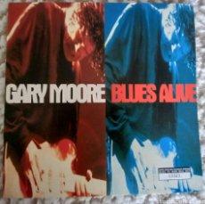 Discos de vinilo: GARY MOORE /BLUES ALIVE. Lote 288484228
