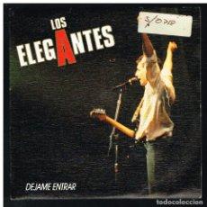 Discos de vinilo: LOS ELEGANTES - DÉJAME ENTRAR / KNOCKIN´ ON HEAVEN DOORS - SINGLE 1990. Lote 288484253