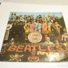 Discos de vinilo: SINGLE THE BEATLES SGT PEPPERS CLUB BAND. LONELY HEARTS. 4 TEMAS. EMI 1968 SPAIN (BUEN ESTADO, LEER). Lote 288485498