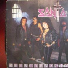 Discos de vinilo: SANTA- REENCARNACIÓN. LP.. Lote 288486083
