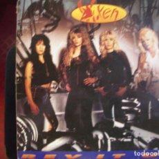Discos de vinilo: VIXEN- REV IT UP. LP.. Lote 288486323