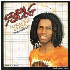 Discos de vinilo: EDDY GRANT - DO YOU FEEL MY LOVE / SYMPHONY FOR MICHAEL - SINGLE 1981 - PROMO. Lote 288487583