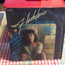 "Discos de vinilo: IRENE CARA - FLASHDANCE B.S.O. / SINGLE 7"" 1983 GERMANY. Lote 288498603"