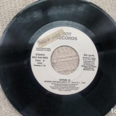 Discos de vinilo: SINGLE (VINILO)-PROMOCION- DE STEVIE B AÑOS 80. Lote 288499993