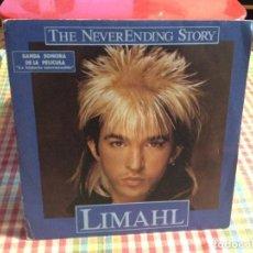 "Discos de vinilo: LIMAHL - THE NEVER ENDING STORY B.S.O. / SINGLE 7"" 1984 SPAIN N-M. Lote 288500138"
