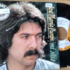 Discos de vinilo: SINGLE (VINILO) DE JOSE MARIA PURON AÑOS 70. Lote 288502043