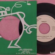 """Discos de vinilo: 7"""" BARRACA - EL SONIDO ITALICA - PROMO SHEET - SPAIN - PROMO 1SIDED (EX+/EX+). Lote 288502123"""