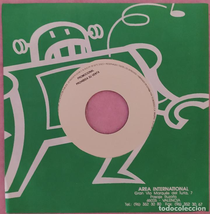 """Discos de vinilo: 7"""" BARRACA - El Sonido Italica - PROMO SHEET - SPAIN - PROMO 1Sided (EX+/EX+) - Foto 2 - 288502123"""