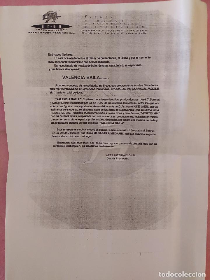 """Discos de vinilo: 7"""" BARRACA - El Sonido Italica - PROMO SHEET - SPAIN - PROMO 1Sided (EX+/EX+) - Foto 3 - 288502123"""