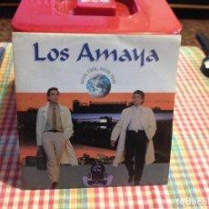 "Discos de vinilo: LOS AMAYA - NEW YORK, NEW YORK / SINGLE 7"" 1991 GERMANY M-M. Lote 288502763"