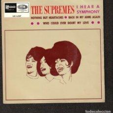 Discos de vinilo: THE SUPREMES: I HEAR A SIMPHONY + 3- EXT.PLAY TAMLA MOTOWN-STATESIDE 1968-. Lote 288503603