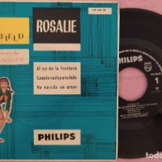 """Discos de vinilo: 7"""" BILLY BUTTERFIELD / RAY CONNIFF - ROSALIE - PHILIPS 429848 BE - SPAIN PRESS - EP (EX/EX). Lote 288504688"""