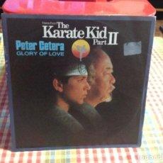 "Discos de vinilo: PETER CETERA - THE KARATE KID (PART II) / SINGLE 7"" 1986 GERMANY. NM-M. Lote 288506413"