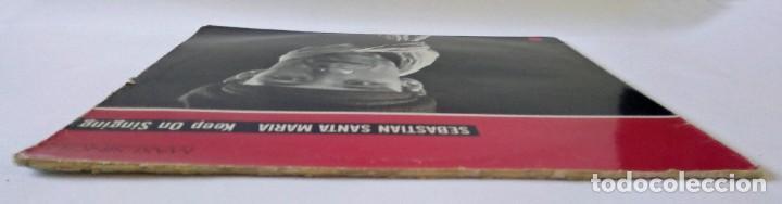 Discos de vinilo: SEBASTIÁN SANTA MARÍA - KEEP ON SINGING - ARIOLA EURODISC, ISLAND RECORDS - 1987 - MAXI SINGLE - Foto 4 - 288510623