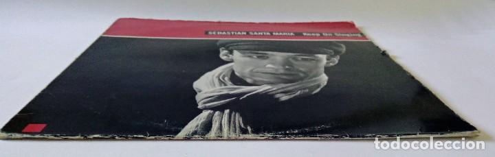 Discos de vinilo: SEBASTIÁN SANTA MARÍA - KEEP ON SINGING - ARIOLA EURODISC, ISLAND RECORDS - 1987 - MAXI SINGLE - Foto 6 - 288510623