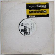 Discos de vinilo: LEGACY OF SOUND FEATURING MEJA - HAPPY - MAXI ARIOLA 1993 HOLANDA BPY. Lote 288511548