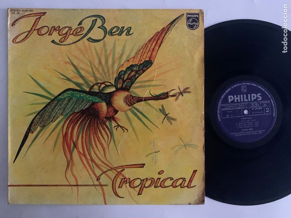 LP JORGE BEN TROPICAL EDICIÓN ESPAÑOLA DE 1977 (Música - Discos - LP Vinilo - Grupos y Solistas de latinoamérica)