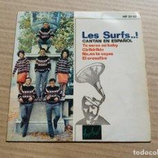 Discos de vinilo: LES SURFS - TU SERAS MI BABY EP 4 TEMAS 1964. Lote 288512503