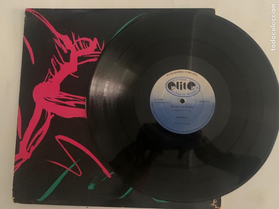 MAXI ANTONIOU SOUND ON SOUND EDICION UK DE 1982 (Música - Discos de Vinilo - Maxi Singles - Electrónica, Avantgarde y Experimental)