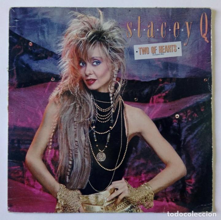 STACEY Q – TWO OF HEARTS (EUROPEAN MIX) - ATLANTIC 1986 (Música - Discos de Vinilo - Maxi Singles - Disco y Dance)