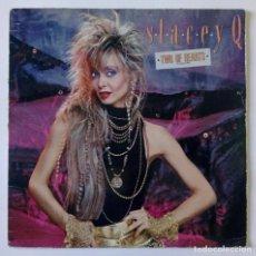 Discos de vinilo: STACEY Q – TWO OF HEARTS (EUROPEAN MIX) - ATLANTIC 1986. Lote 288512828