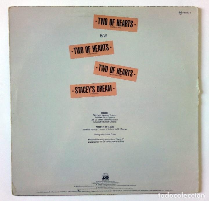 Discos de vinilo: STACEY Q – TWO OF HEARTS (European Mix) - ATLANTIC 1986 - Foto 2 - 288512828