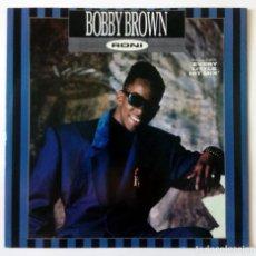 Discos de vinilo: BOBBY BROWN - RONI - THE 'EVERY LITTLE HIT' MIX - MCA RECORDS 1989 - MAXI SINGLE. Lote 288514413