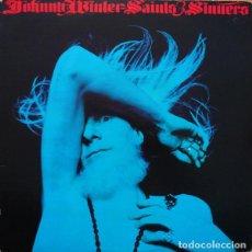 Discos de vinilo: JOHNNY WINTER – SAINTS & SINNERS -LP-. Lote 288515323