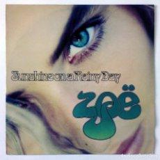Discos de vinilo: ZOË - SUNSHINE ON A RAINY DAY - YOUTH, 1992 - MAXI SINGLE. Lote 288516518