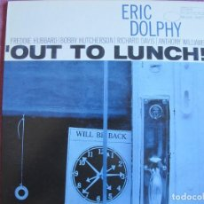 Discos de vinilo: LP - ERIC DOLPHY - OUT TO LUNCH (SPAIN, BLUE NOTE RECORDS 2010, CONTIENE FASCICULO). Lote 288529178