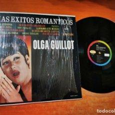 Discos de vinilo: OLGA GUILLOT MAS EXITOS ROMANTICOS LP VINILO PROMO MEXICO MONO DEL AÑO 1965 MUY RARO 12 TEMAS. Lote 288529538