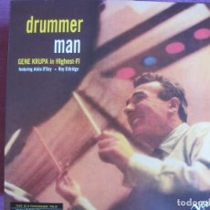 Discos de vinilo: LP - GENE KRUPA - DRUMMER MAN (SPAIN, VERVE RECORDS 2010, CONTIENE FASCICULO). Lote 288529808