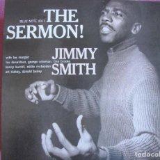Discos de vinilo: LP - JIMMY SMITH - THE SERMON (SPAIN, BLUE NOTE RECORDS 2010, CONTIENE FASCICULO). Lote 288529983
